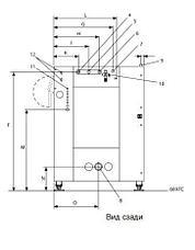 Промышленная стиральная машина Electrolux W41100H 120 кг, фото 2