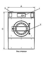 Промышленная стиральная машина Electrolux W5280X 28 кг, фото 2