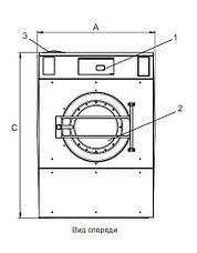 Промышленная стиральная машина Electrolux W5350X 35 кг, фото 2