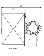 Промышленная стиральная машина Electrolux W5350X 35 кг, фото 3
