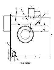 Промышленная стиральная машина Electrolux W555H 6 кг, фото 3