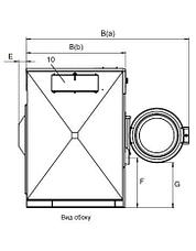 Промышленная стиральная машина Electrolux W5600X 60 кг, фото 3
