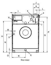 Промышленная стиральная машина Electrolux W5600X 60 кг, фото 2