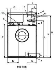 Промышленная стиральная машина Electrolux W565H 7 кг, фото 2
