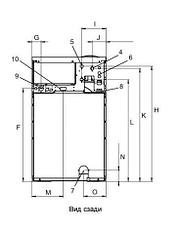 Промышленная стиральная машина Electrolux W575N/S 8 кг, фото 2