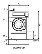 Промышленная стиральная машина Electrolux WB5130H 13 кг, фото 2
