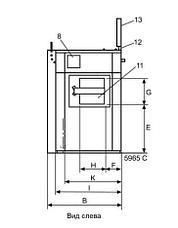 Промышленная стиральная машина Electrolux WB5130H 13 кг, фото 3