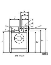 Промышленная стиральная машина Electrolux WB5180H 18 кг, фото 2
