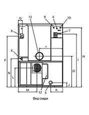 Промышленная стиральная машина Electrolux WD5240 15 кг, фото 2