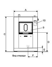 Промышленная стиральная машина Electrolux WSB4650H WS4650H 65 кг, фото 2