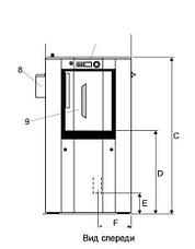 Промышленная стиральная машина Electrolux WSB5250H WS5250H 25 кг, фото 2