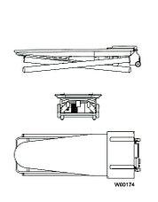 Профессиональный гладильный стол Electrolux FIT1, фото 3