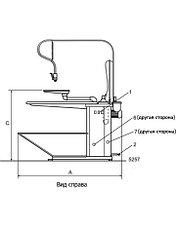 Профессиональный гладильный стол Electrolux FIT2B, фото 2