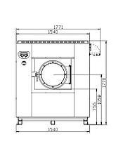 Высокоскоростная стиральная машина Imesa LM 40, фото 2