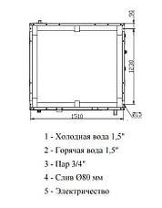Высокоскоростная стиральная машина Imesa LM 40, фото 3