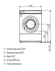 Высокоскоростная стиральная машина Imesa LM 23 MOP, фото 3