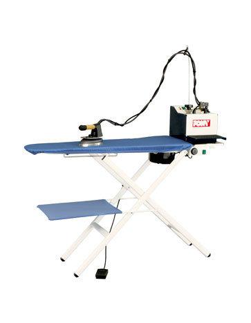 Полупрофессиональный гладильный стол Pony Omega 2000 + переносной парогенератор с утюгом Baby Plus, фото 2