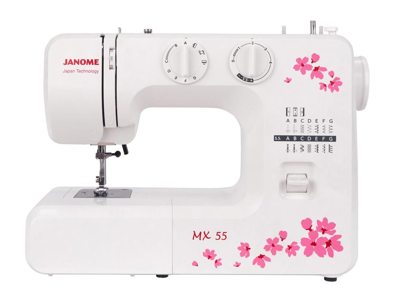 Швейная машинка JANOME МХ55