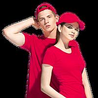 Бейсболка хлопковый велюр, StanComfort, 11, Красный (14), 56-58