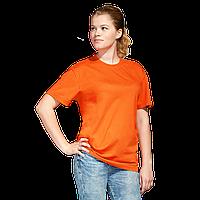 Промо футболка унисекс, StanAction, 51, Оранжевый (28), S/46