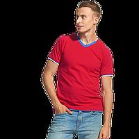 Спортивная футболка «триколор», MoscowStyle, 14021, Красный (14), M/48