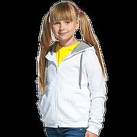 Детская толстовка, StanStyleJunior, 17J, Белый-Серый меланж (10/50), 6 лет