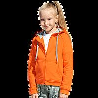 Детская толстовка, StanStyleJunior, 17J, Оранжевый-Серый меланж (28/50), 8 лет