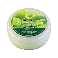 Deoproce - Питательный крем с экстрактом зеленого чая