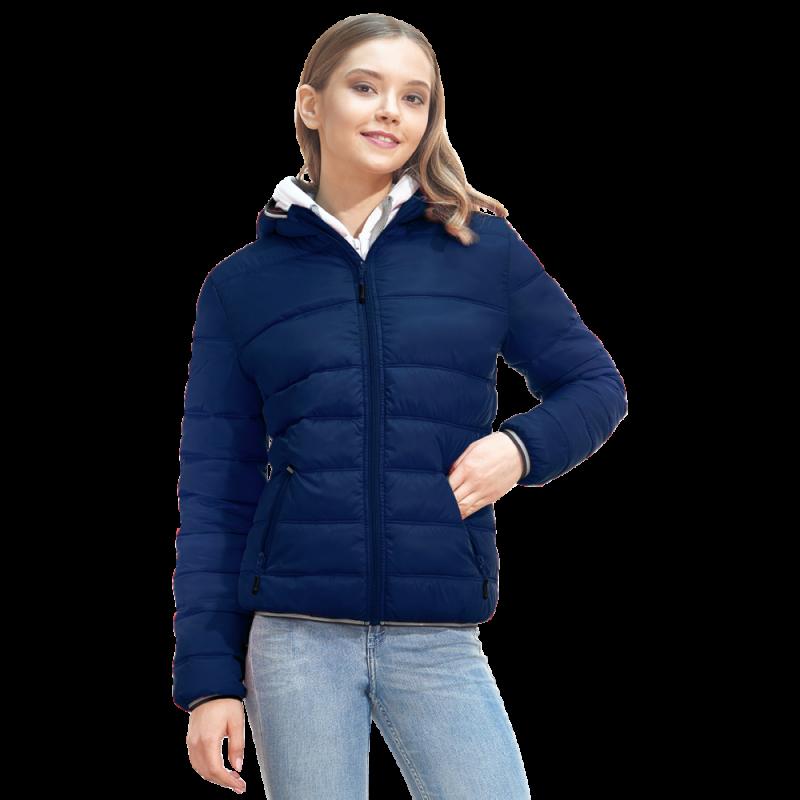 Женская куртка с капюшоном, StanAirWomen, 81W, Тёмно-синий (46), XXL/52