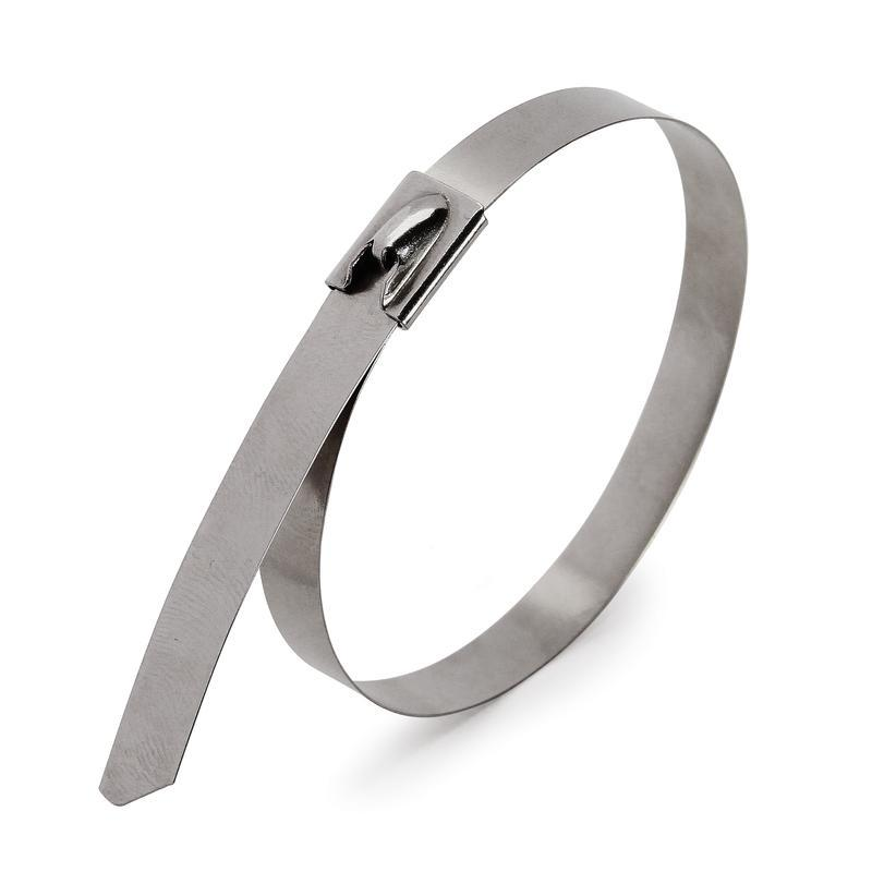 Стяжки стальные крепежные — СКС (304) Fortisflex СКС (304) 12х400