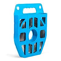 Лента крепежная в пластиковой кассете из нержавеющей стали — ЛКС (304) Fortisflex ЛКС (304)-2007