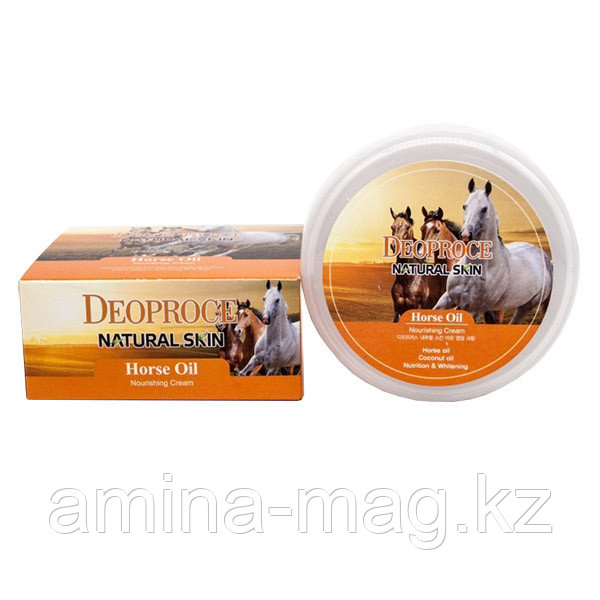Deoproce Horse Oil Nourishing Cream