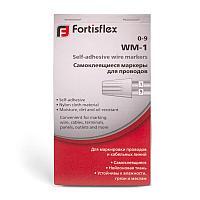 Самоклеящиеся маркеры для проводов — WM Fortisflex WM-3