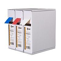 Термоусадочная синяя трубка в компактной упаковке по 10 метров (Т-бокс) Т-BOX-10/5, син