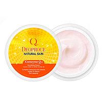 DEOPROCE Natural Skin Coenzime Q10 Nourishing Cream Питательный крем на основе коэнзима Q10