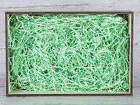 Бумажный наполнитель для оформления подарков. Цвет - Зеленый 30 гр.