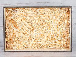 Бумажный наполнитель для оформления подарков. Цвет - Персиковый 30 гр.