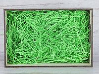 Бумажный наполнитель для оформления подарков. Цвет - Parrot 100 гр.