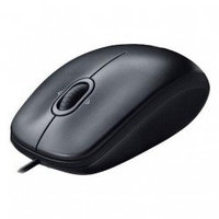 М123 Logitech Logitech M100 dark optical USB (910-001604)