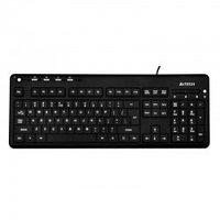 К123 A4 Tech Клавиатура A4Tech KD-126, black (с белой подсветкой)