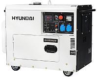 Электростанция дизельная Hyundai DHY 8000SE