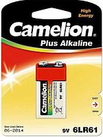 Батарейка Camelion 6LF22-BP1 9 В, Упакова: Блистер 1 шт., Аналоги: 6LR61\1604A\9V\Крона, Тип батареи: Щелочная