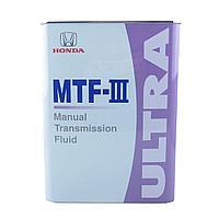 Трансмиссионное масло Honda UltraMTF-III  08261-99964 4литра