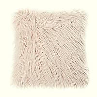 Декор подушка Лама пушистая кремовый цвет