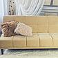 Декор подушка Лама пушистая золотой , фото 3