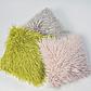 Декор подушка Лама пушистая салатовый цвет, фото 2