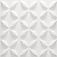 Гипсовые 3Д панели Сапфир  50х50х2,5 см, фото 2