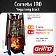 Печь для бани Grill'D Cometa Vega 180 long black 8-24 м3, фото 2
