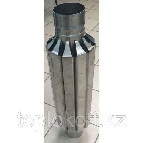 "Конвектор ""Ромашка"" ф 120 AISI 439/430 1.0мм/0.5мм"