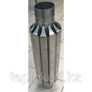 "Конвектор ""Ромашка"" ф 150 AISI 439/430 1.0мм/0.5мм"